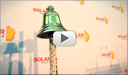 video toque campana Solarpack